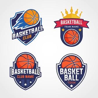 Logotipos da equipe de basquete