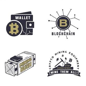Logotipos de ativos digitais