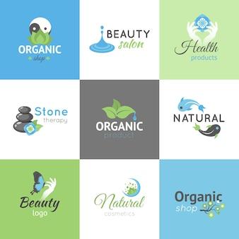 Logotipos de beleza