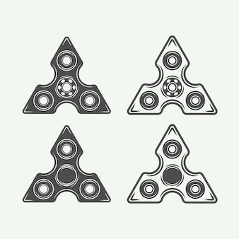 Logotipos de fidget spinners