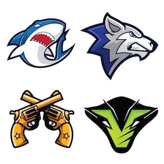 Logotipos de mascotes