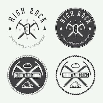 Logotipos de montanhismo