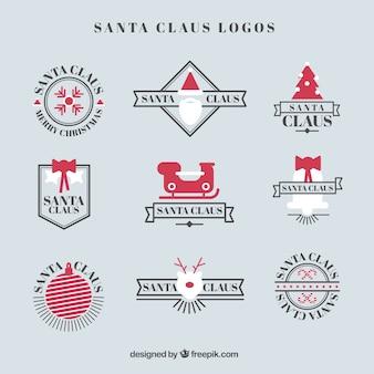Logotipos de papai noel