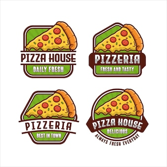 Logotipos de pizzarias sempre novos
