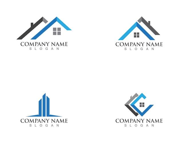Logotipos de propriedade e construção