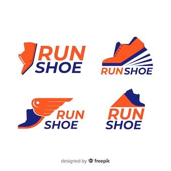 Logotipos de tênis de corrida