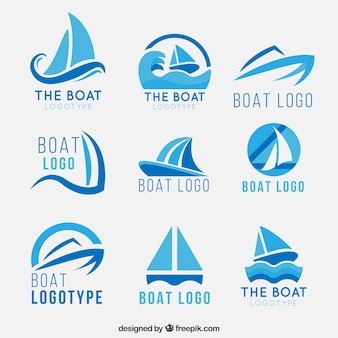 Logotipos do barco