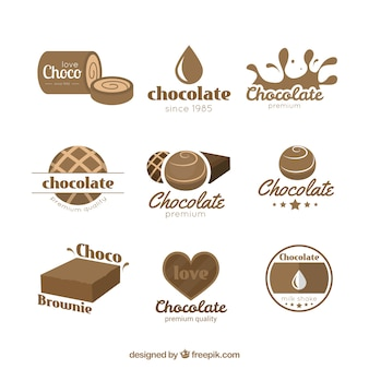 Logotipos do chocolate