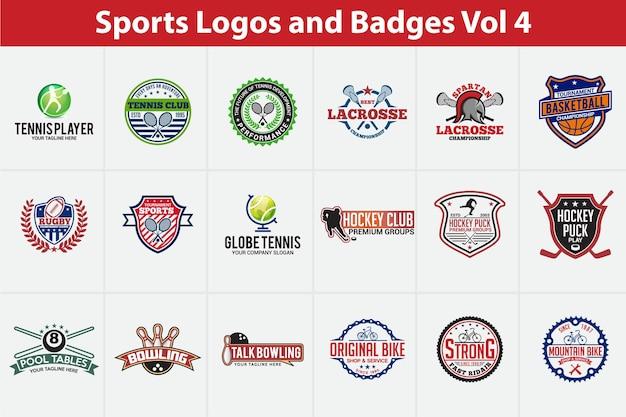 Logotipos e emblemas esportivos