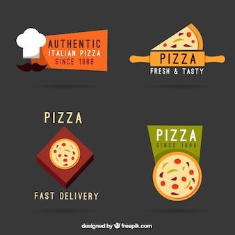 Logotipos pizzaria modernos