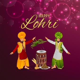 Lohri com tambor