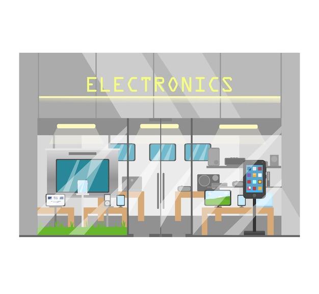 Loja de eletrônicos externos loja de dispositivos eletrônicos