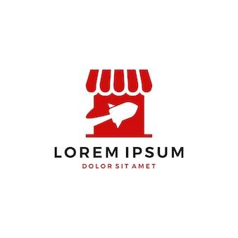 Loja de foguete logotipo do vetor do logotipo download