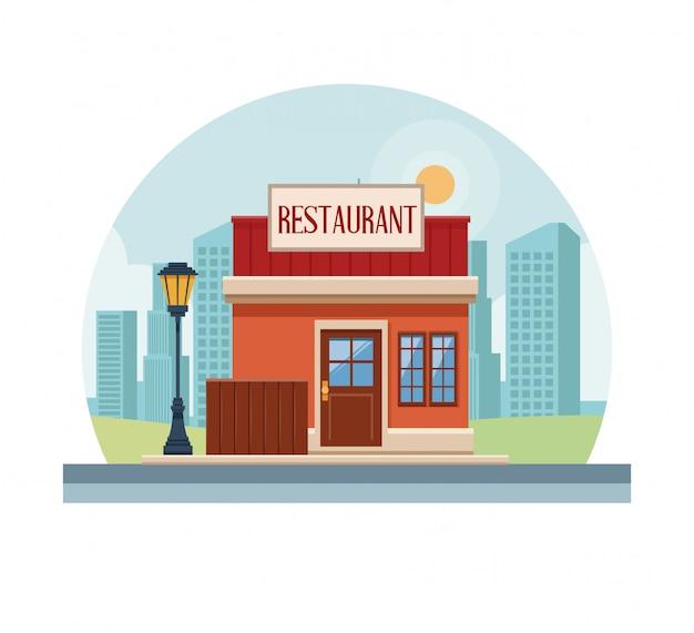 Loja de loja de restaurante