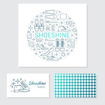 Loja de sapatos de papelaria