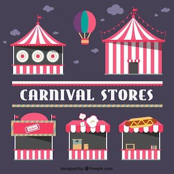 Lojas de circo embalar