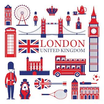 Londres e atrações turísticas no reino unido