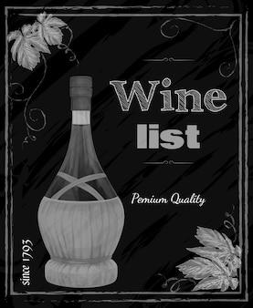 Lousa de vinhos