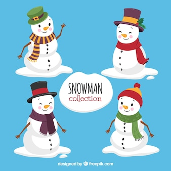 Lovely snowman set