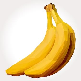Lowpoly de bananas