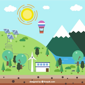 Lugar ecológica