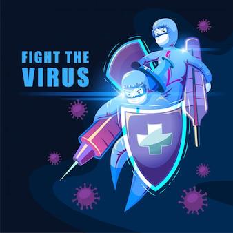Luta contra vírus