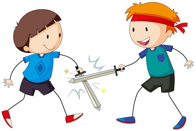 Luta de espadas