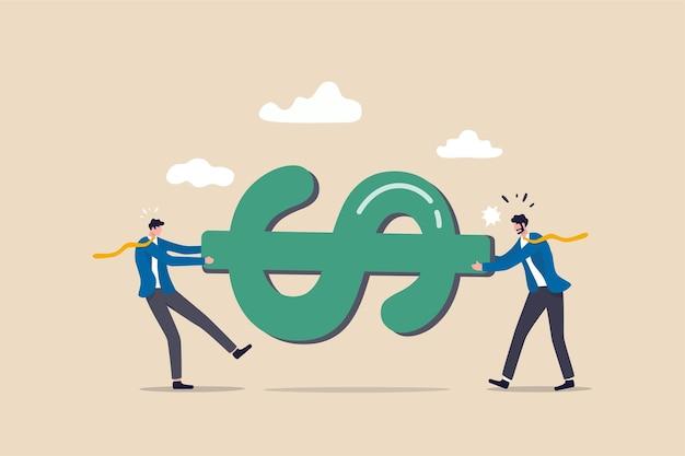 Luta pelo conceito de dinheiro.