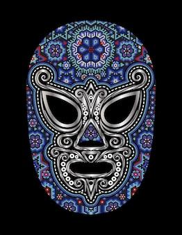 Lutador huichol blue mexico