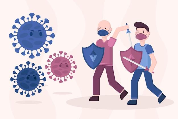 Lutar contra o conceito de vírus