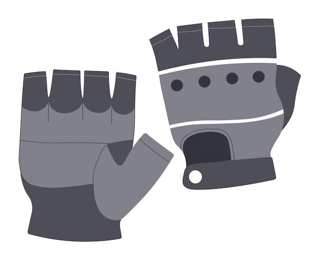 Luvas de couro para motociclistas ou luvas de ciclistas