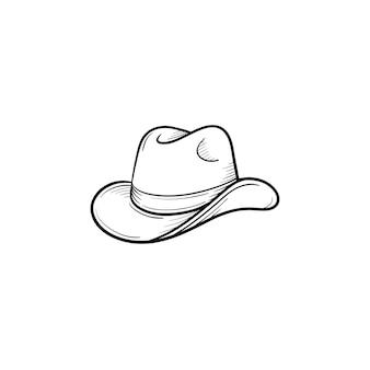 Luvas de mão desenhada de vetor delinear o ícone do doodle. luvas esboçar ilustração para impressão, web, mobile e infográficos isolados no fundo branco.