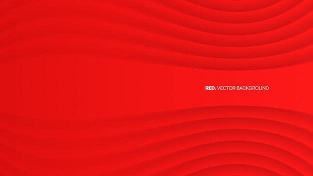 Luxo abstrato vermelho elegante