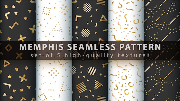 Luxo e elegante padrão sem emenda