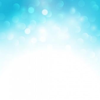 Luz azul do feriado