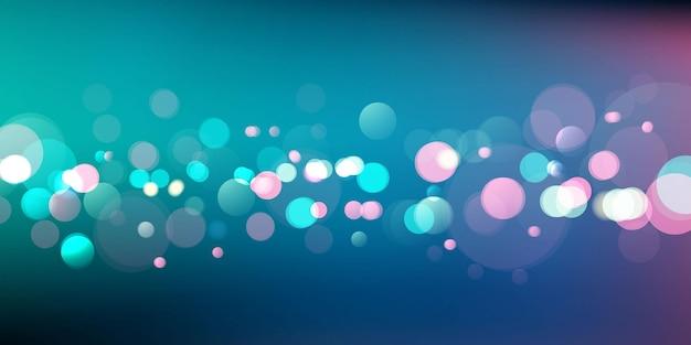 Luz borrada abstrata