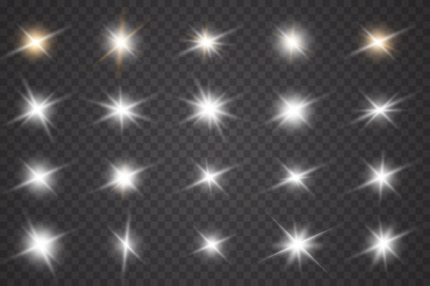 Luz branca brilhante explode. partículas de poeira mágica cintilante