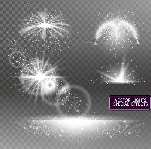 Luz de efeito especial de brilho