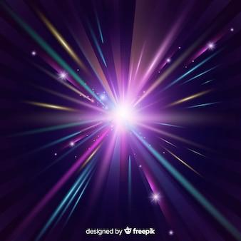 Luz de fundo brilhante