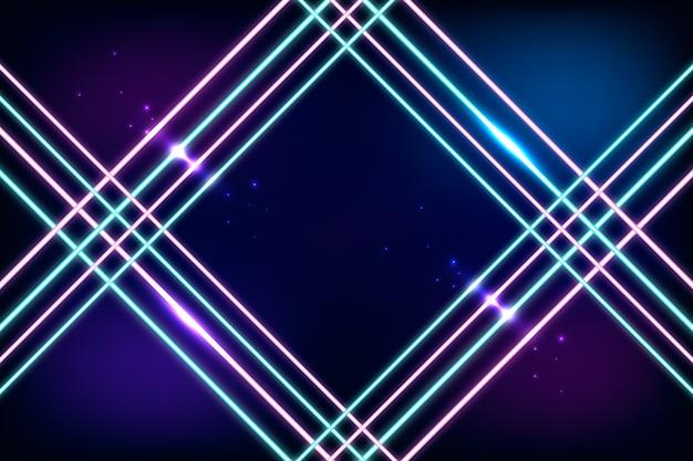Luz de fundo de néon