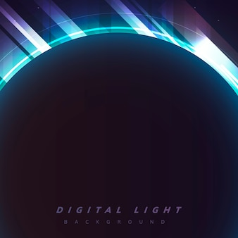 Luz de fundo digital