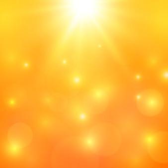 Luz de fundo laranja