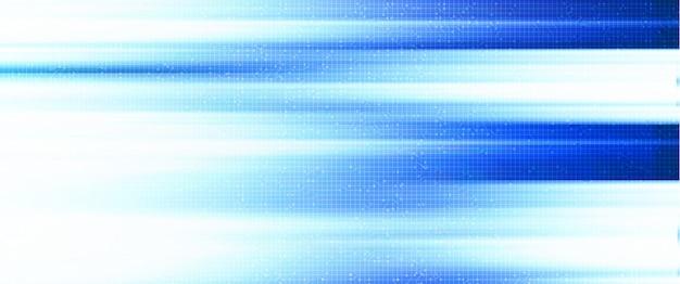 Luz de velocidade no fundo de tecnologia
