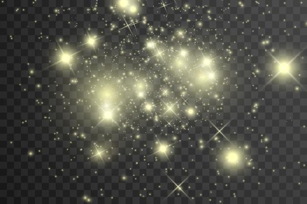Luz nas estrelas.