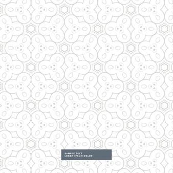 Luz projeto cinzento padrão abstrato formas no fundo branco
