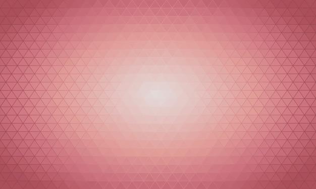 Luz rosa vetor triângulo polígono de fundo.