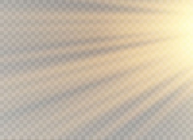 Luz solar transparente