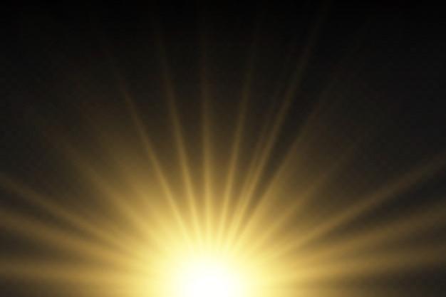 Luz solar um design especial translúcido do efeito da luz.