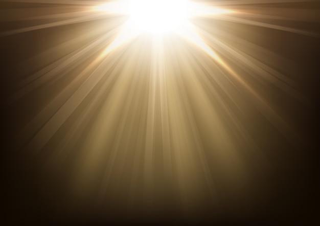 Luzes brilhando ilustração vetorial