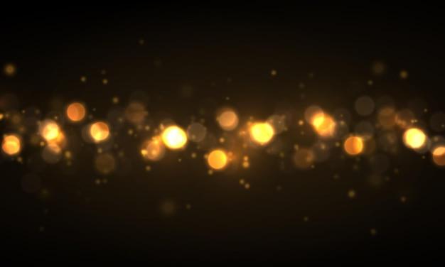 Luzes brilhantes bokeh